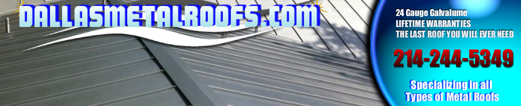 Dallas Metal Roofs | Sheet Metal Roofing Systems