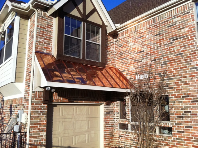 Roofing cooper roofing copper roof green with age for Standing seam copper